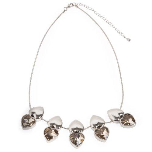 Schmuck-art 26826 21 centimeters  Palladium Necklace with Pendant