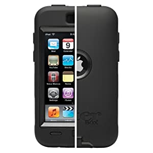 OtterBox Defender Series Case for iPod touch 2nd Gen and 3rd Gen (Black)