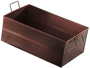 "American Metalcraft BEV1220 Tubs, 19.7"" Length x 8"" Width, Copper"