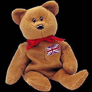 TY Beanie Baby - BRITANNIA the Bear (UK Exclusive)