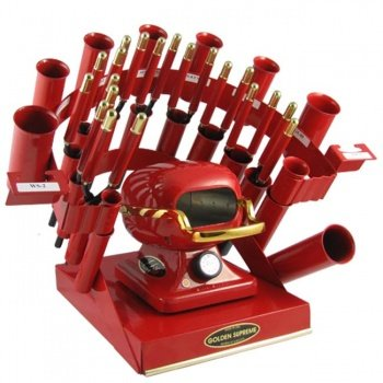 Golden Supreme Iron Stove Rainbow Styling Set Red