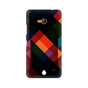 Ebby Colorful Abstract Art Premium Printed Case For Nokia Lumia 640
