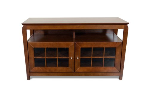 TechCraft BAY4828 48-Inch Wide Flat Panel TV Credenza - Walnut