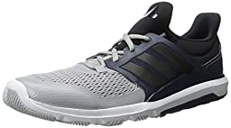 adidas Performance Men\'s Adipure 360.3 M Training Shoe,Clear Onix Grey/Black/Collegiate Navy,10 M US
