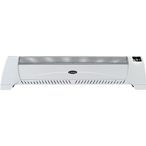 Lasko 5622 Low Outline Silent Room Heater, White