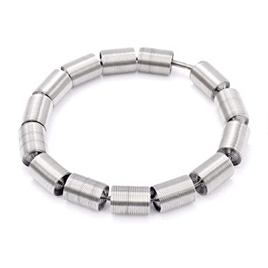 Silver Rolls Collar by La Mollla
