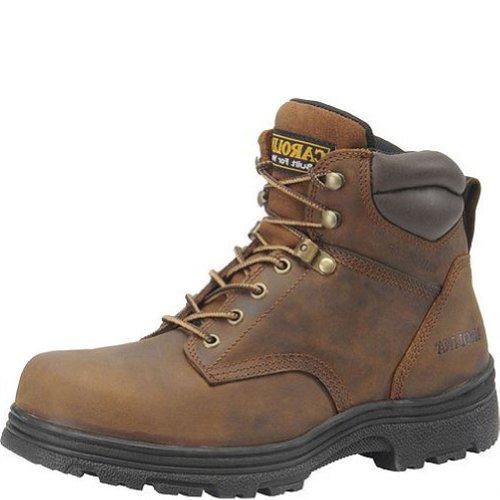 Carolina Men'S 6 Inch Waterproof Steel Toe Work Boot Copper Crazy Horse Lthr 9.5 2E Us