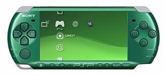 PSP「プレイステーション・ポータブル」 スピリティッド・グリーン (PSP-3000SG) 【メーカー生産終了】