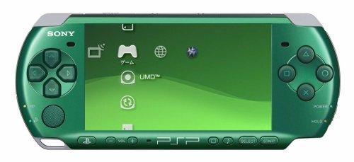 PSP「プレイステーション・ポータブル」 スピリティッド・グリーン(PSP-3000SG)