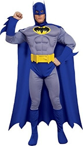 Fas Cosplay Heroes and Villains Collection Deluxe Muscle Chest Batman Costume