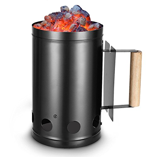 classic-steel-charcoal-bbq-chimney-starter-with-wood-handle-heavy-duty-starter-black-steel