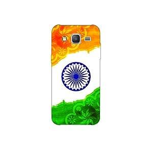 samsang grand prime nkt09 (11) Mobile Case by oker - Indian Flag Paint