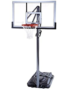 Lifetime 71522 Competition Series XL Portable Basketball Hoop with 54 Inch Shatter Guard Backboard