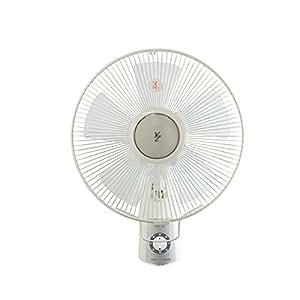 山善(YAMAZEN) 30cm壁掛扇風機(引きひもスイッチ) ホワイト YWS-J302(W)