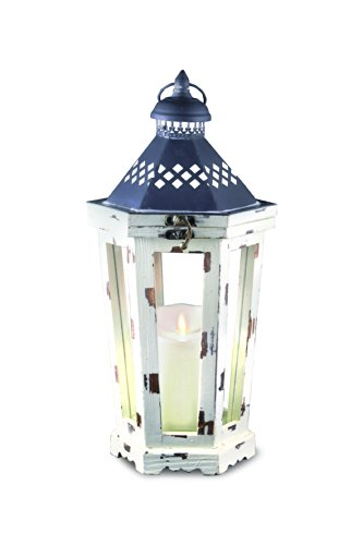 GKI/Bethlehem Lighting Winston Luminara Lantern, 16-Inch, White