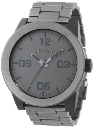 Nixon The Corporal SS - Men's ( Matte Black/Matte Gunmetal )