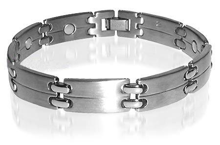 New Titanium Magnetic Power Golf Link Bracelet 8.5 Inch