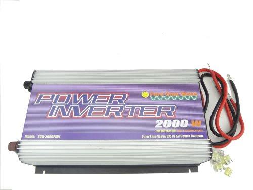 Misol 2000W Inverter 24V/110V/60Hz, Pure Sine Wave, For Solar System, For Photovoltaic