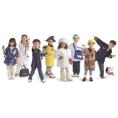 Brand New World Community Helper Dramatic Dress Ups Collection – Set of 8