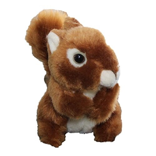 LightningStore Super Cute Orange Brown Squirrel Doll Realistic Looking Stuffed Animal Plush Toys Plushie Children's Gifts Animals ...
