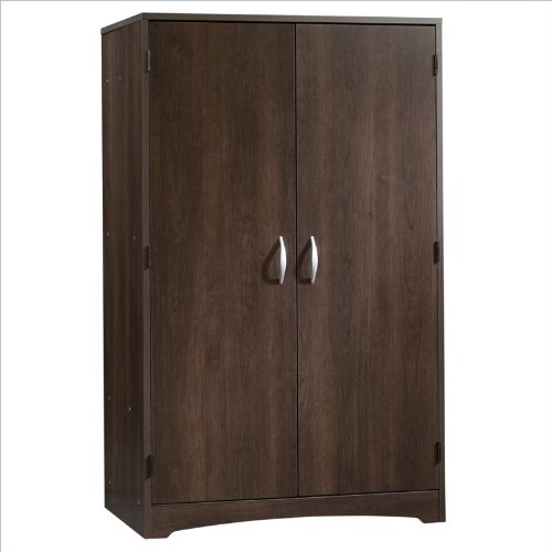 Sauder Beginnings Computer Armoire - Cinnamon