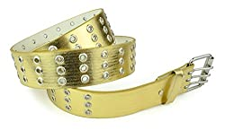 Belle Donne - Women's stylish Belts Dress Belts - Gold/Large