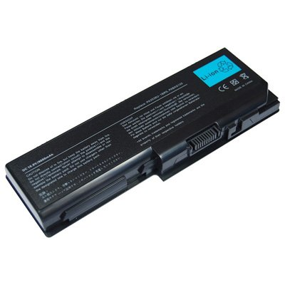 Laptop Battery for Toshiba Satellite X205-S9349, 9 cells 6600mAh Black