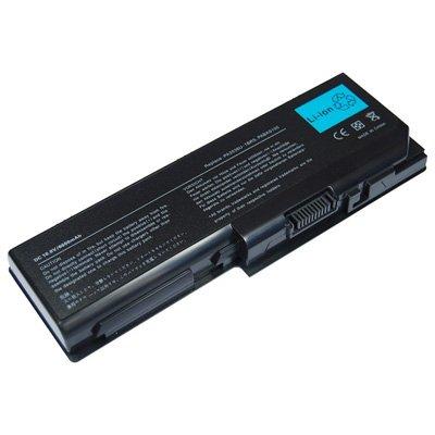 Laptop Battery for Toshiba Satellite X205-SLi3, 9 cells 6600mAh Black