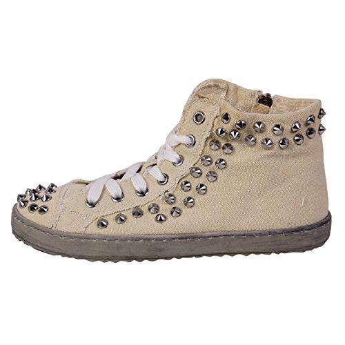 FRANCESCOMILANO donne Sneaker High Top Beige F452T beige 41