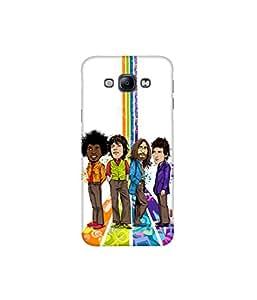 Kolor Edge Printed Back Cover For Samsung Galaxy A8 - Multicolor (4391-Ke10531SamA8Sub)