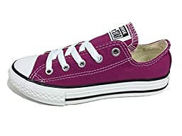 Converse Kids Chuck Taylor OX Pink Sapphir Basketball Shoe 12 Kids US