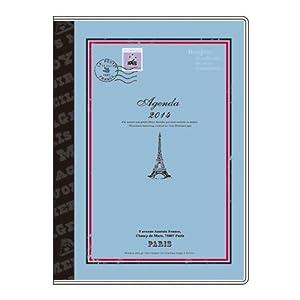 アピカ パペリ スケジュールブック livre 2013年12月始まり マンスリー A6 SA6M415