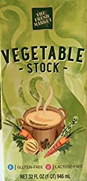 The Fresh Market Vegetable Stock 32 Oz (Pack of 4)