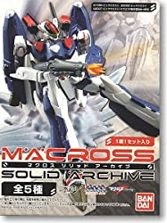 Macross Solid Archive Trading Figure Collection (Display Box of 6)