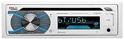 BOSS AUDIO MR508UABW Bluetooth, Single-Din, Marine, MP3, CD, AM/FM Receiver