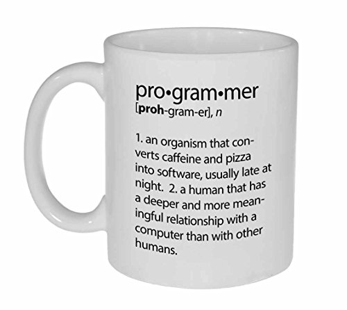 Programmer Definition Funny Coffee or Tea Mug
