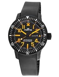 Fortis Men's 647.28.13K B-42 Black Mars 500 Automatic Black Dial Watch