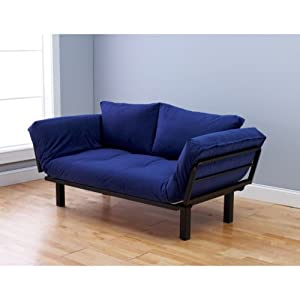 .com - Futon Sofa Couch and Daybed or Twin Bed Size with 6