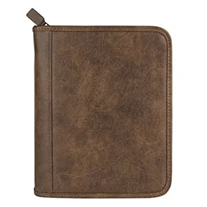 FranklinCovey Classic FranklinCovey Basics Simulated Leather Binder - Brown