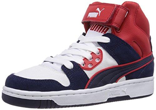 Puma Puma Rebound Street CV, Low-Top Sneaker unisex adulto, Blu (Blau (peacoat-peacoat-high risk red 02)), 41