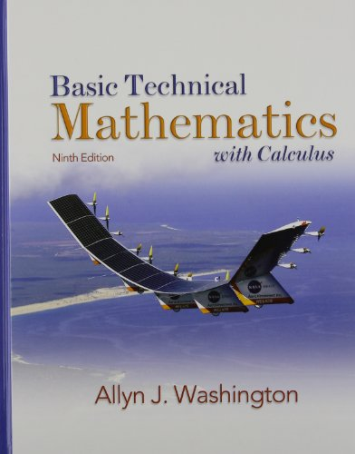 Basic Technical Mathematics with Calculus with MathXL (24-month access) (9th Edition)