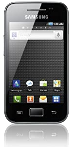 Samsung Galaxy Ace S5830 Smartphone (8,9 cm (3,5 Zoll) Display, Touchscreen, Android, 5 Megapixel Kamera) schwarz