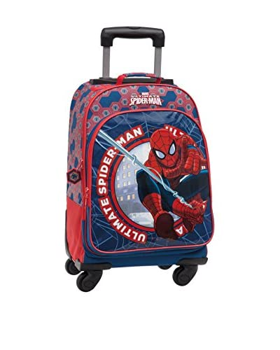 Disney Zaino Trolley Spiderman [Multicolore]
