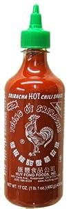 Sriracha Hot Chili Sauce Huy Fong 17 Oz from tastepadthai