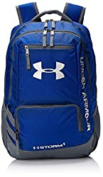 Under Armour Hustle II Backpack, Royal, One Size