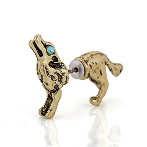 secreto-de-tres-dimensiones-del-invierno-lobo-color-bronce-unico-3d-stud-pendientes