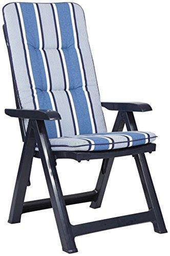 BEST Gartensessel »Kansas (2 Stück)« 2 Stühle, blau online bestellen