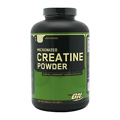 Optimum Nutrition - Creatine Powder, 600 g powder by OPTIMUM NUTRITION