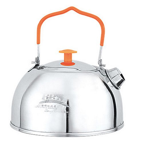 BRS 1.1L Camping Teapot Camp Kitchen Portable Ultralight Outdoor Hiking Coffee Water Kettle Pots (Portable Coffee Pot compare prices)