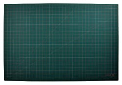 Lion Post Consumer Recycled Large Cutting Mat, 24 x 36 Inches, Green, 1 Mat (CM-90C)
